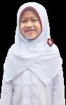 Jilbab Sekolah Anak Merah Putih Aster